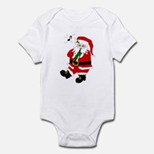 Santa Plays Clarinet Infant Bodysuit
