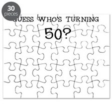 GUESS WHOS TURNING 50? BIRTHDAY Puzzle