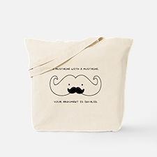 Mustache Mustache Tote Bag