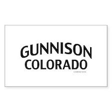Gunnison Colorado Decal