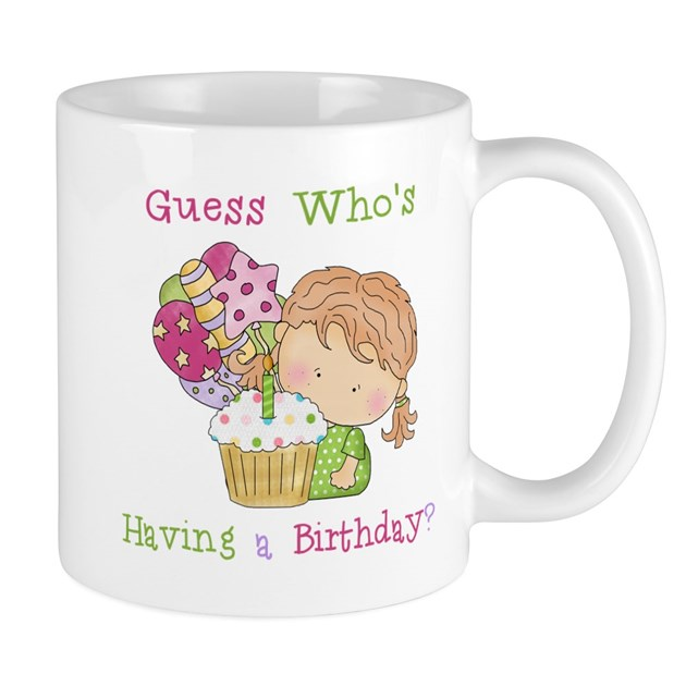 GUESS WHOS HAVING A BIRTHDAY? CUTE GIRLS BIRTHDAY by ...