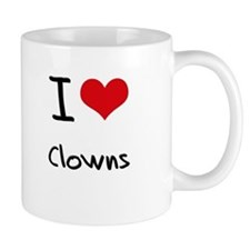 I love Clowns Mug