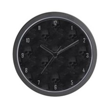 Bedazzled Wall Clock