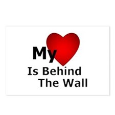 My Heart Behind Postcards (Package of 8)