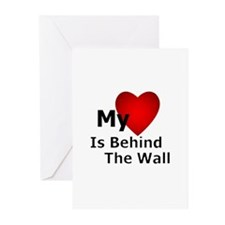 My Heart Behind Greeting Cards (Pk of 10)