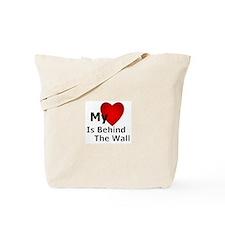 My Heart Behind Tote Bag