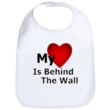 My Heart Behind Bib