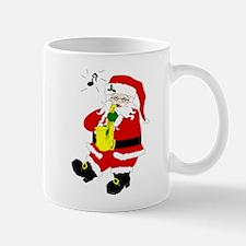 Santa Plays Sax Christmas Mug