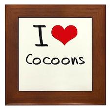 I love Cocoons Framed Tile