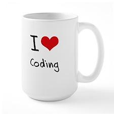 I love Coding Mug