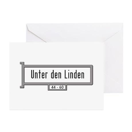 Unter den Linden, Berlin Greeting Cards (Pk of 10)