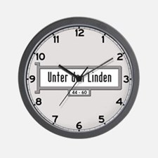 Unter den Linden, Berlin - Germany Wall Clock