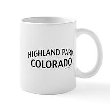 Highland Park Colorado Mug