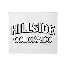 Hillside Colorado Throw Blanket