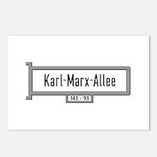 Karl-Marx-Allee, Berlin - Postcards (Package of 8)