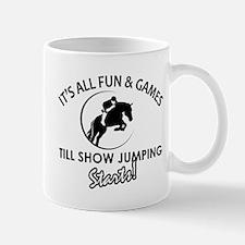 Show Jumping designs Mug