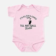 Netball designs Infant Bodysuit
