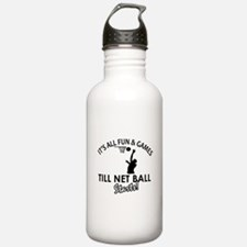 Netball designs Water Bottle