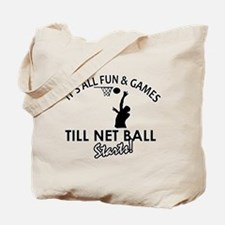 Netball designs Tote Bag