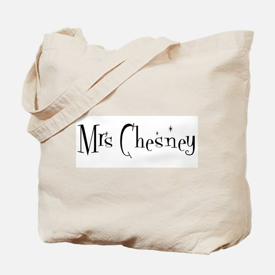 Mrs Chesney Tote Bag