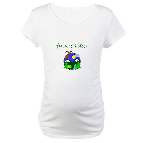future hiker.bmp Maternity T-Shirt