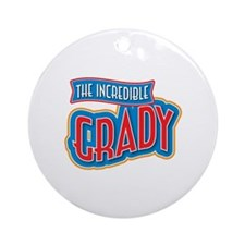 The Incredible Grady Ornament (Round)