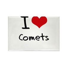 I love Comets Rectangle Magnet