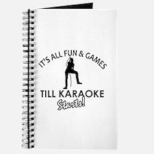 Karaoke designs Journal