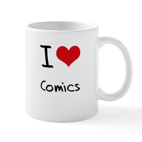 I love Comics Mug