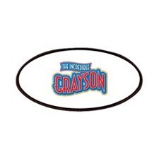 The Incredible Grayson Patches