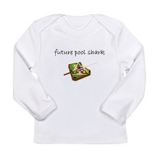 future pool shark.bmp Long Sleeve T-Shirt