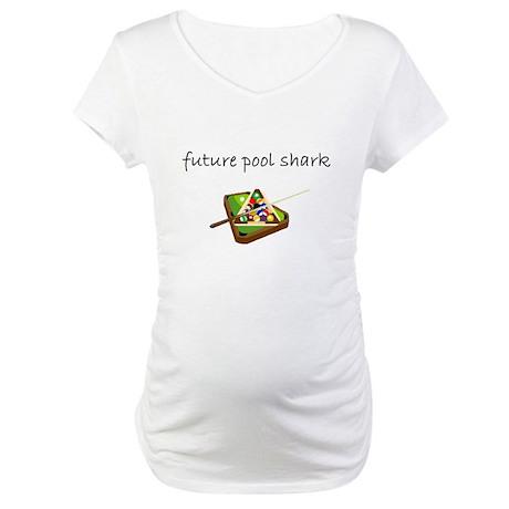 future pool shark.bmp Maternity T-Shirt