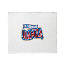 The Incredible Hamza Throw Blanket