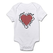 Caged Heart Infant Bodysuit