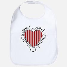 Caged Heart Bib