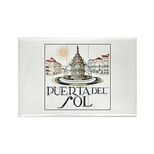 Puerta del Sol, Madrid - Spain Rectangle Magnet