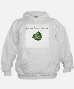 future forest ranger.bmp Hoodie