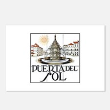 Puerta del Sol, Madrid - Spain Postcards (Package