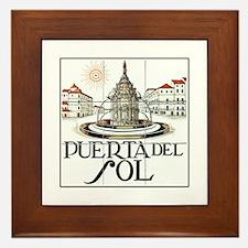 Puerta del Sol, Madrid - Spain Framed Tile