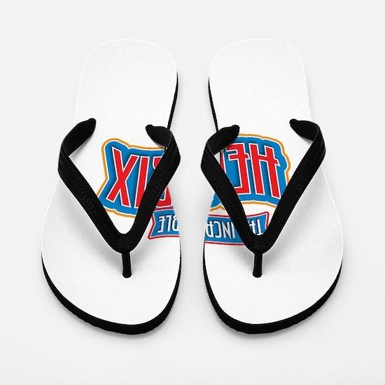 The Incredible Hendrix Flip Flops