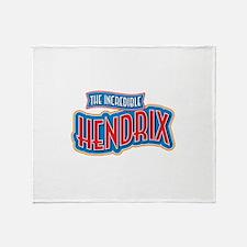 The Incredible Hendrix Throw Blanket