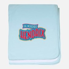 The Incredible Hendrix baby blanket