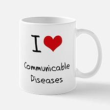 I love Communicable Diseases Mug