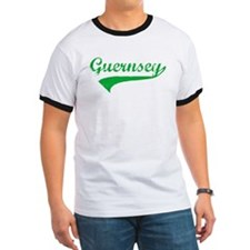 weathered shirt-green on white T-Shirt