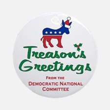 Treason's Greetings! Ornament (Round)