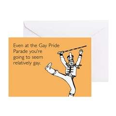 Relatively Gay Greeting Card