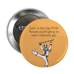 """Relatively Gay 2.25"""" Button"""