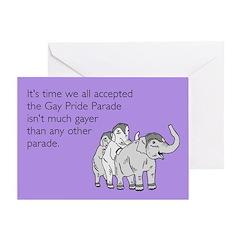 Parades Are Gay Greeting Card