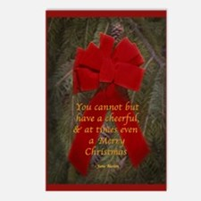 Jane Austen Christmas Postcards (Package of 8)