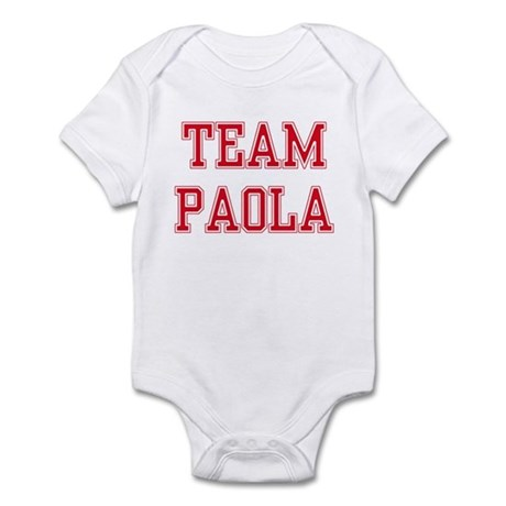 TEAM PAOLA Infant Creeper